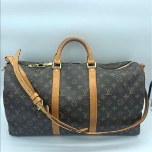 Louis Vuitton Monogram Keepall Bandoliere50